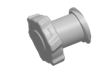 Luers Luer Fitting, luer cap, Natural Polypropylene